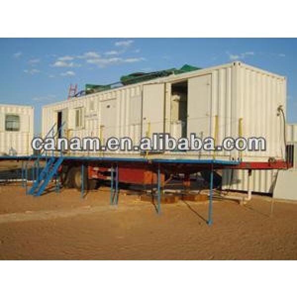 CANAM- Modular container office with security net #1 image