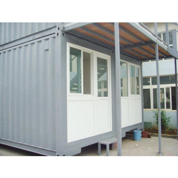 canam-20ft flat pack container living room with toilet #1 image