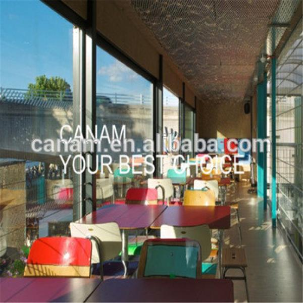 prefabricated steel structure container building for restaurant #1 image