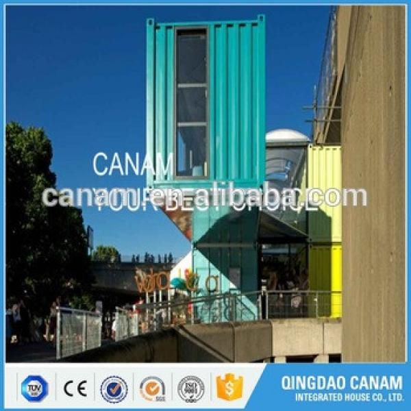 Factory price with low cost outdoor shipping container restaurant #1 image