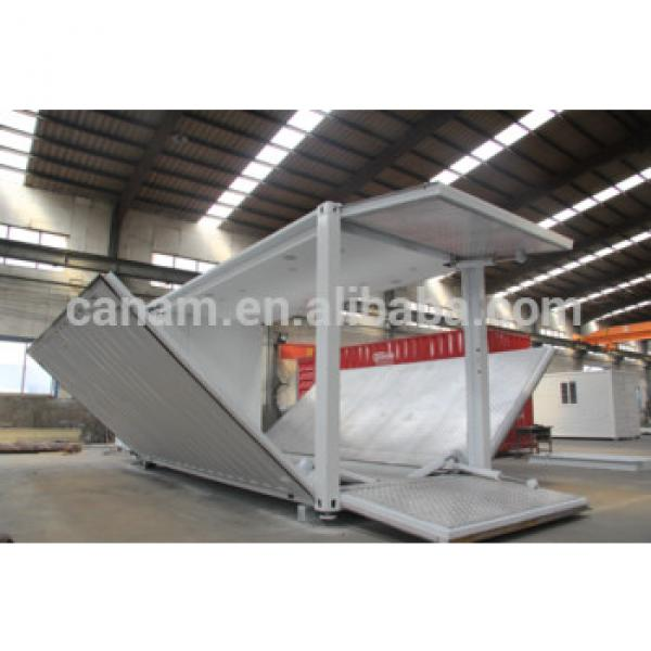 20ft Prefab showcase container with hydraulic #1 image