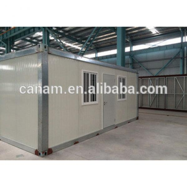 Movable prefab flat pack modular container living house #1 image