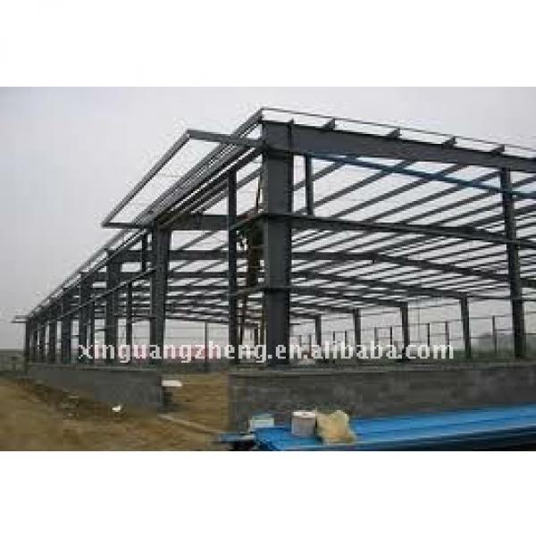 Construction steel structure workshop/warehouse/ metal building project/poutry shed #1 image