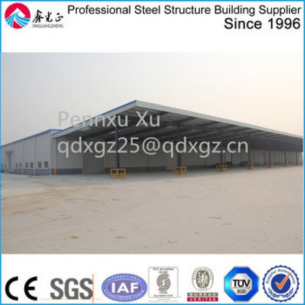 long large span with big canopy Storage Logistic warehouse #1 image