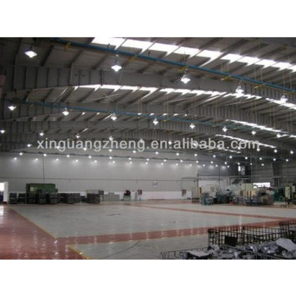 Light Prefabricated steel structure Football field house/chicken shed/workshop/project #1 image