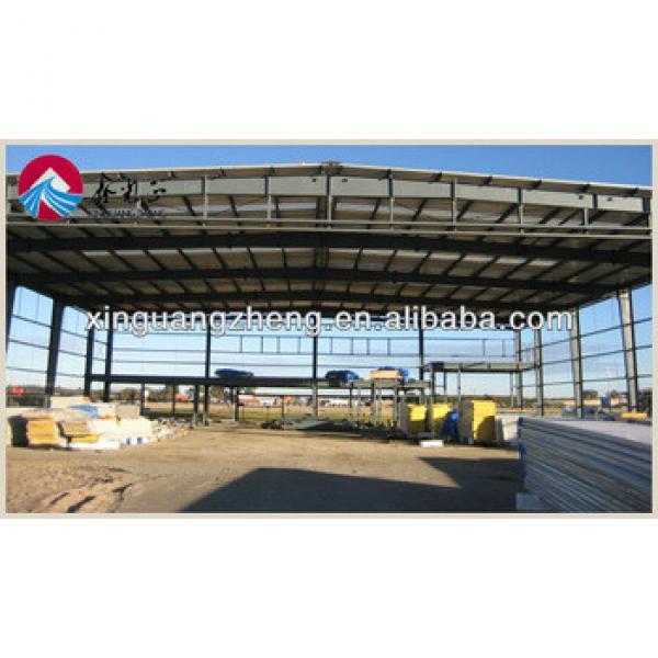prefab steel structure construction warehouse building #1 image