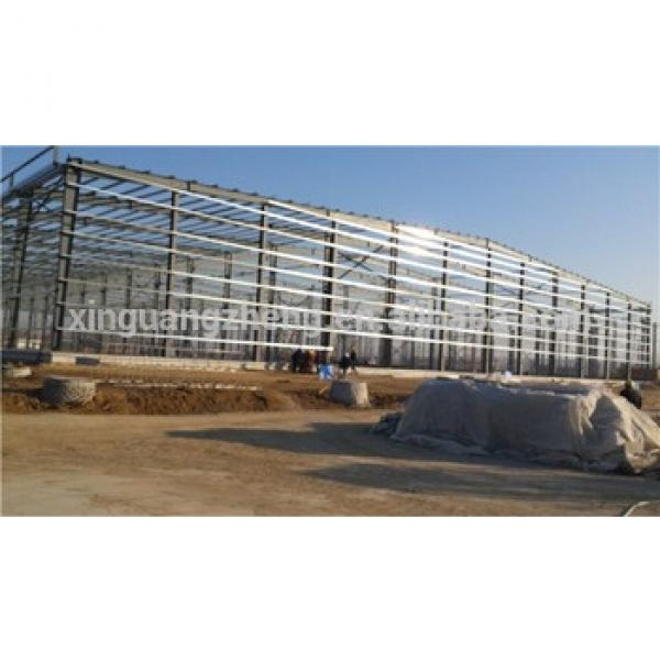 frame of light steel structure warehouse for sales #1 image