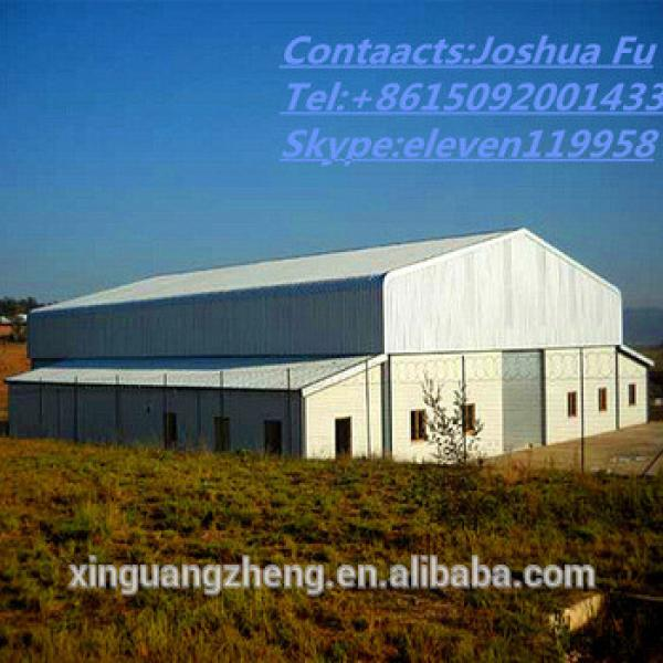 Low cost steel structure prefabricated barn for farm #1 image