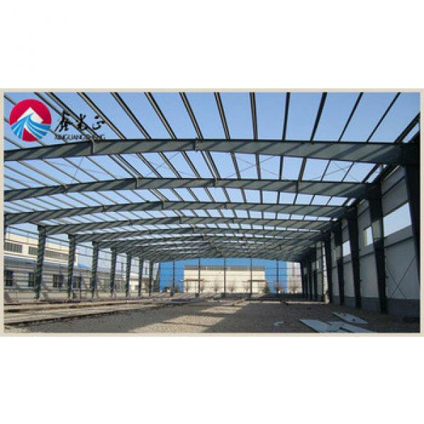 industrial steel structure warehouse with drawing designing #1 image