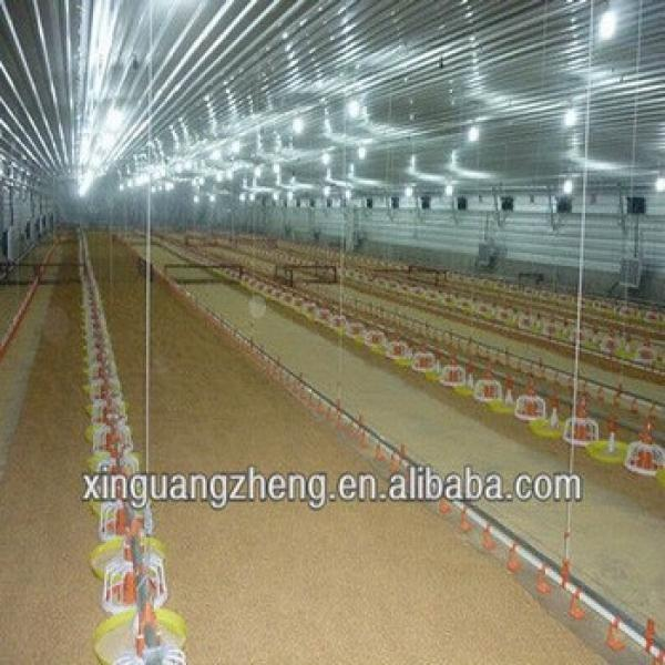 prefabricate steel structure large chicken houses #1 image
