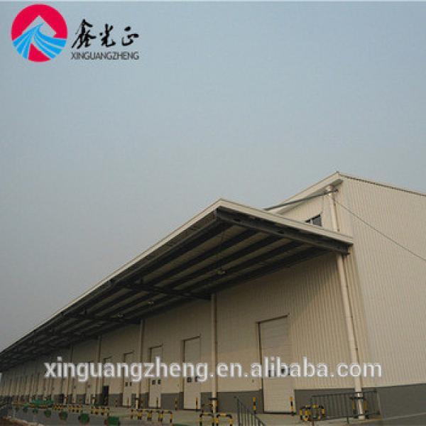 Prefabricated light steel strucutre logistics warehouse #1 image