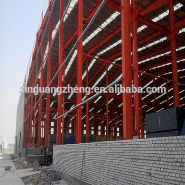 low-cost pre-made steel structure barn warehouse made in china #1 image