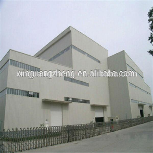 cheapest prefabricated manufactured warehouse made in China #1 image