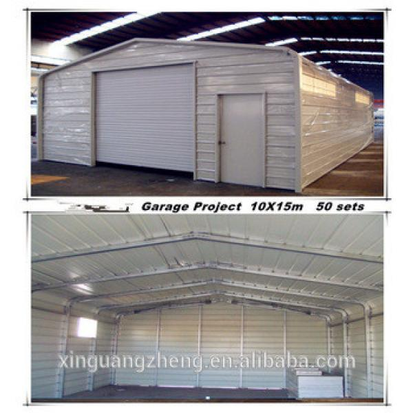 Chinese low cost steel structure garage/shed #1 image
