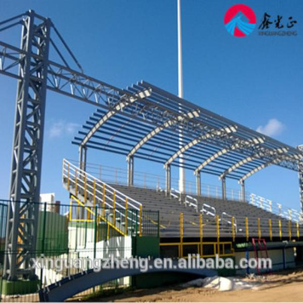 Fabricated H steel structure members onsite assembled project #1 image