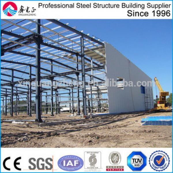 prefab light steel frame metal warehouse/building #1 image