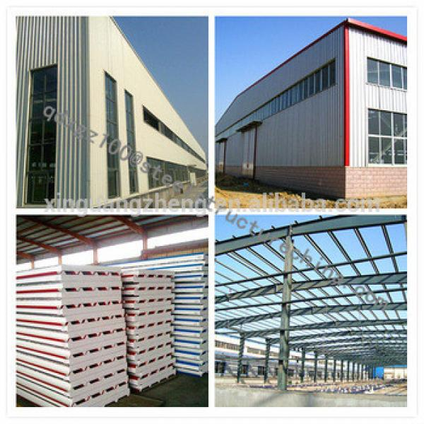 china light structural steel fabrication companies fabrication frame workshop/plant/warehouse #1 image