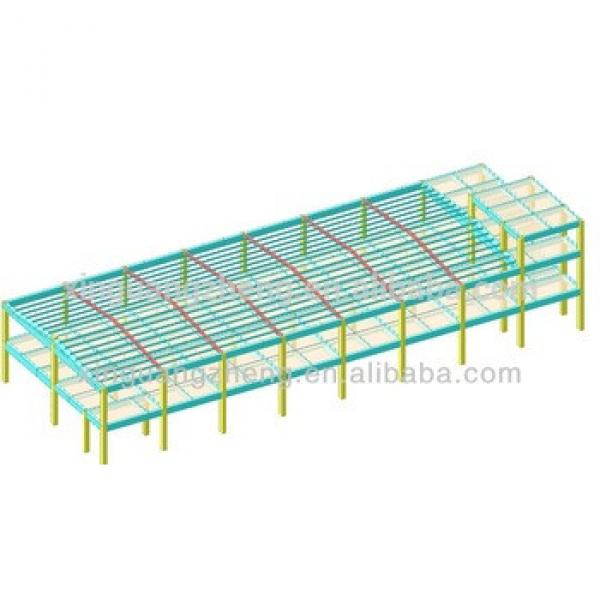 china light steel structure warehouse draw #1 image