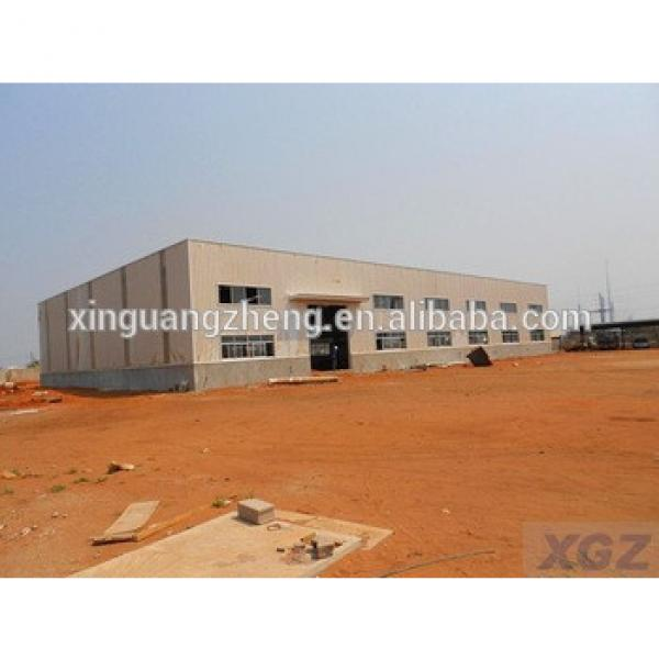 2016 hot sale single span industrial building structural steel shed steel framed fabricated warehouses #1 image