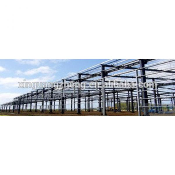 Prefabricated galvanized steel structure warehouse #1 image
