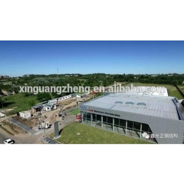 construction steel structure exhibition hall #1 image