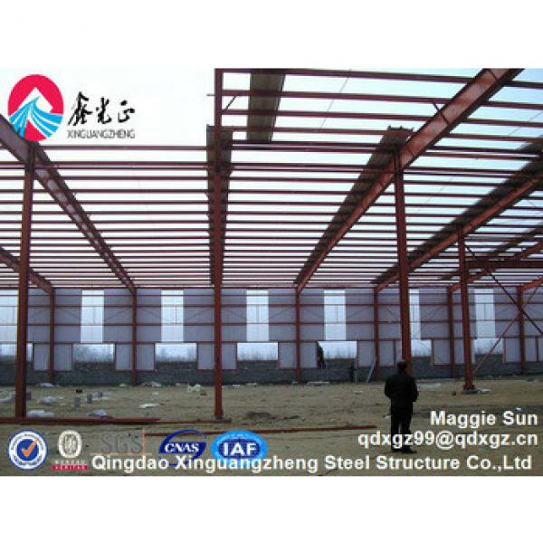 Chinese steel structure and sandwich panel project factory #1 image