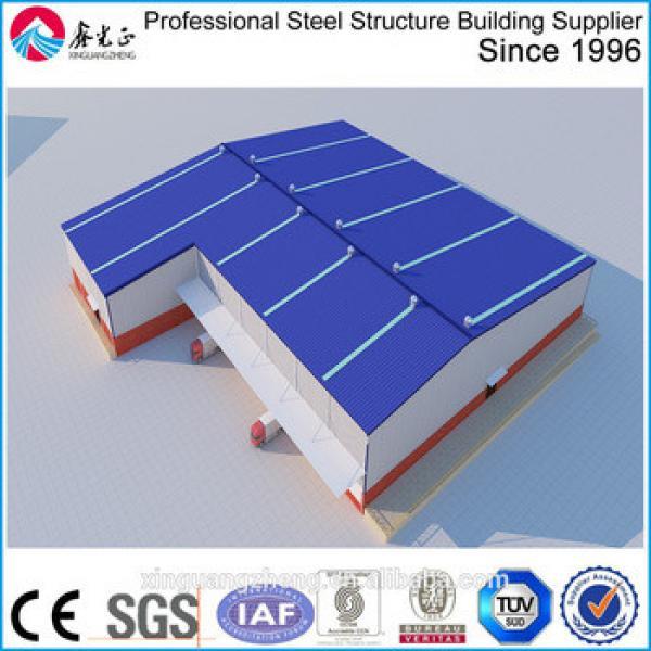 Irregular shape H steel structure L shape warehouse #1 image