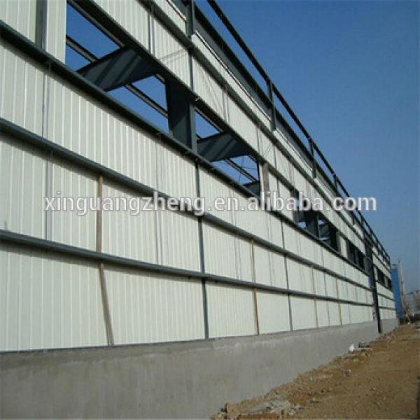 qingdao prefab steel frame rent factory warehouse in China #1 image