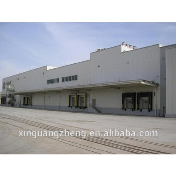 Chinese prefab steel structure workshop #1 image