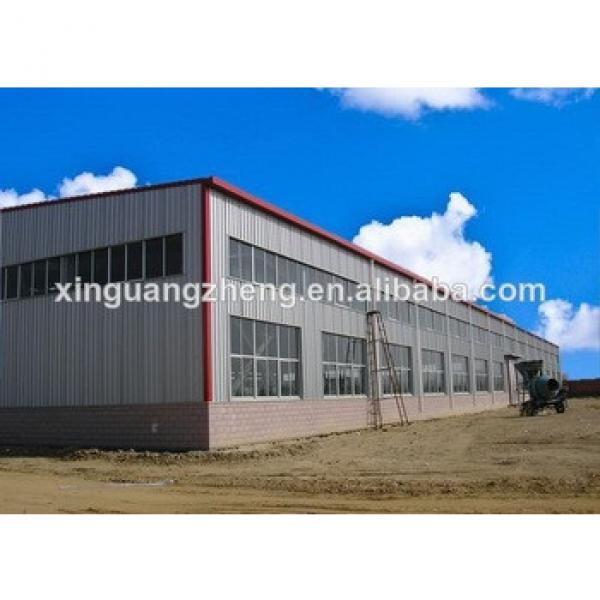 two story steel structure warehouse with drawing designing #1 image