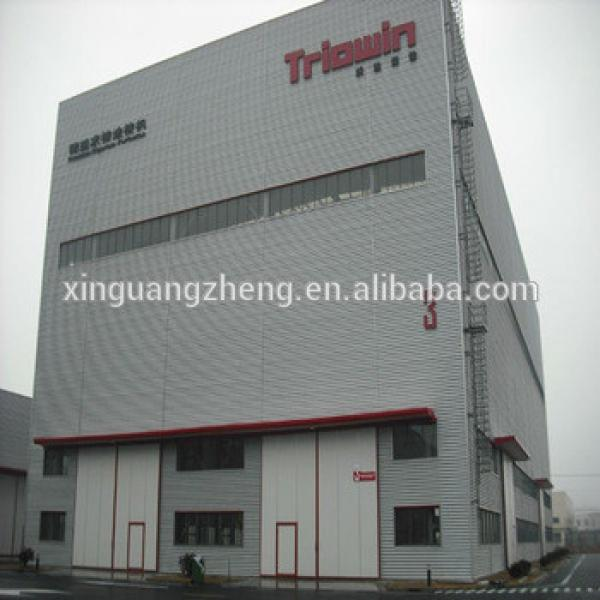 prefabricated large modern design steel building made in china #1 image