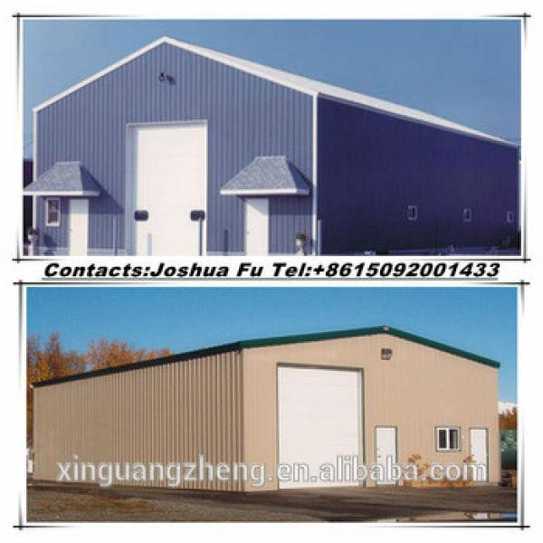 Simple prefabricated steel structure barn #1 image