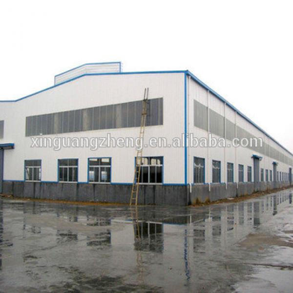 cheap prefab modern factory used steel structure warehouse for sale #1 image