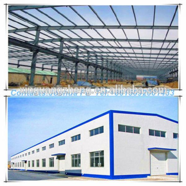 G+1 or two storeys portal frame steel warehouse #1 image