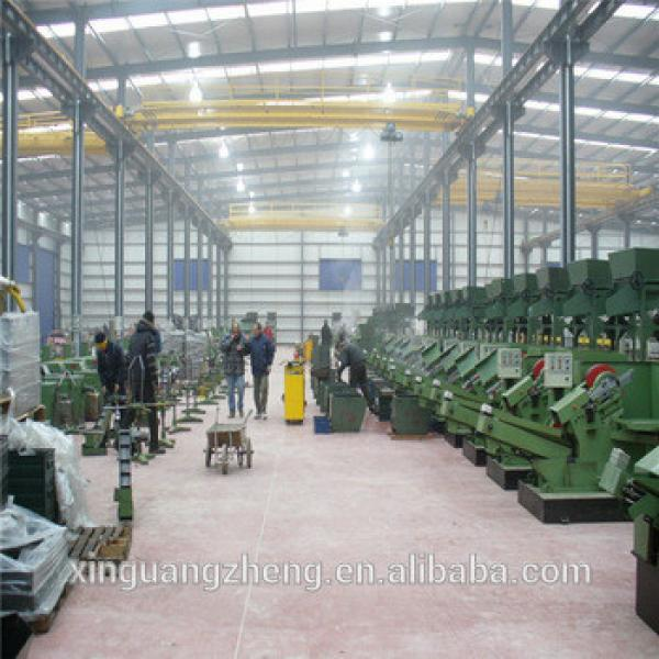Customized welding H steel structure frame warehouse #1 image