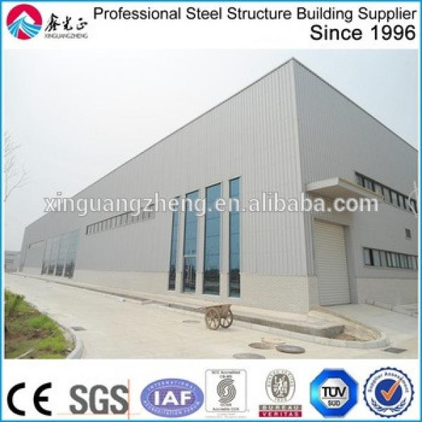 cheap prefabricated building customized industrial metal warehouse #1 image