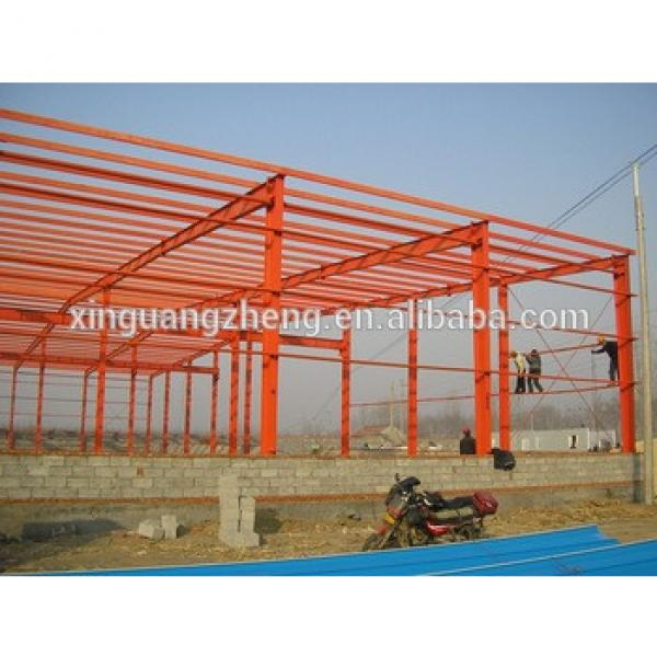 metallic structures for warehouse light steel frame cad #1 image