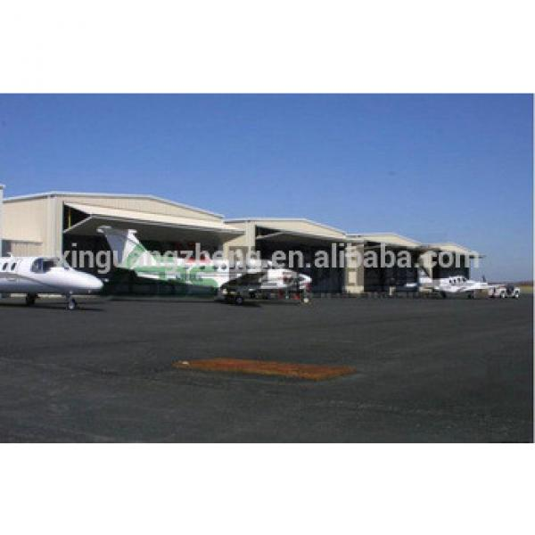 Steel structure frame Prefabricated aircraft hanger hot sale #1 image