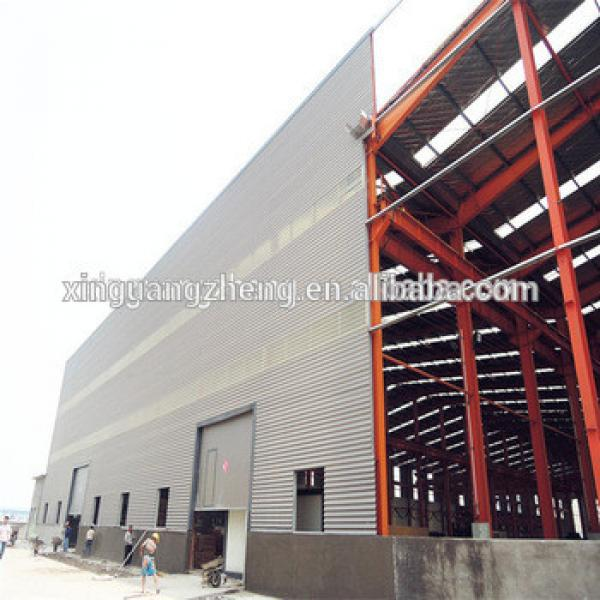 Easy to install and low cost steel structure construction steel warehouse/steel workshop by CE certifiction #1 image