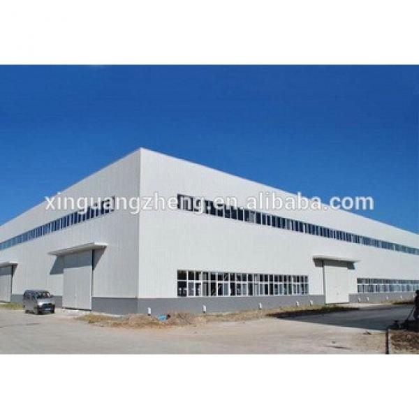 practical designed industry china modern light steel structure warehouse #1 image