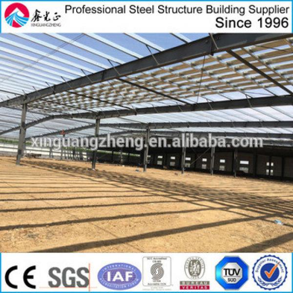 quick build fireproof prefabricated steel structure coal warehouse #1 image