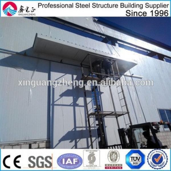 portal designed heavy-duty prefab warehouse shed building #1 image