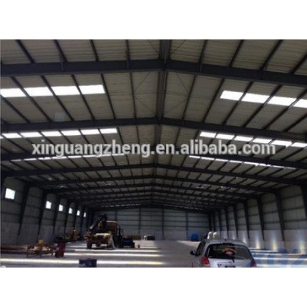 prefabricated iso certification steel shed design #1 image