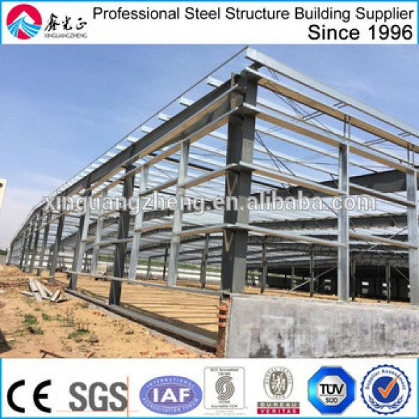 prefabricated peb steel frame warehouse building #1 image