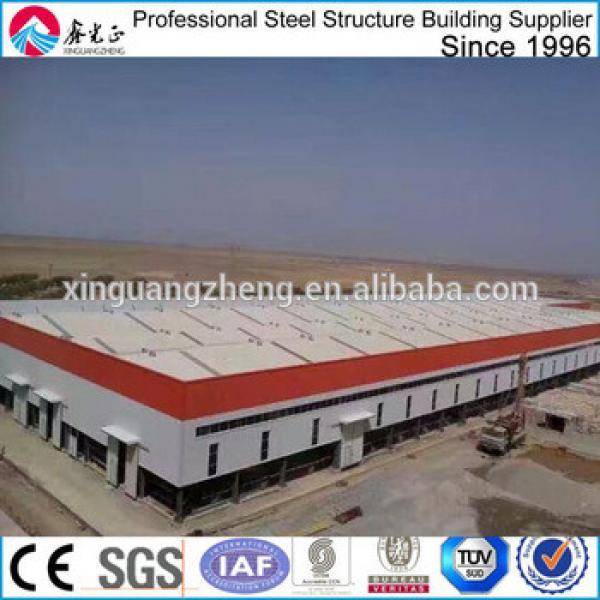 construction industrial steel structure workshop in algeria #1 image