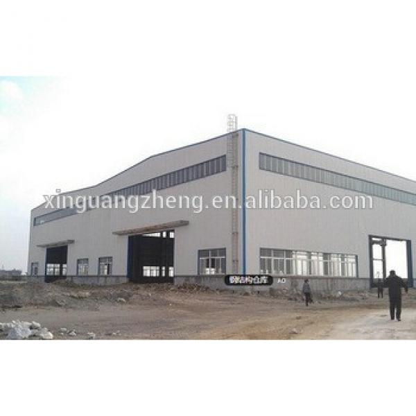 portal frame construction iron structure warehouse #1 image