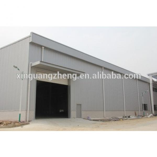 China modern light steel structure warehouse #1 image
