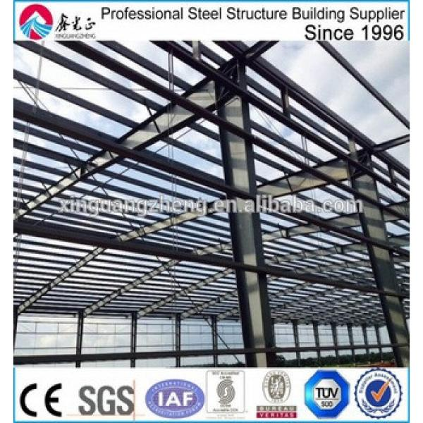 construction designed steel structure frame warehouse #1 image