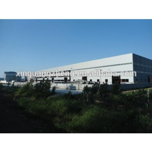 low cost large span light steel prefabricated for warehouses #1 image