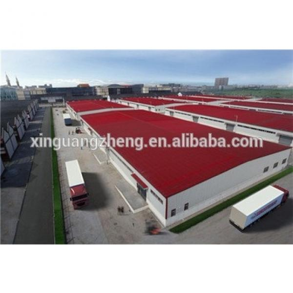 steel structure corrugated sheet warehouse #1 image